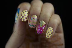Easter Egg Nail Art — A Positive Beauty #nailart #Easternails #Easternailart #Easter #bblogger