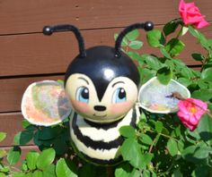 Outdoor garden bee designed by Laura