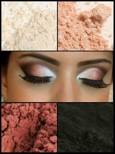 "Recreate this look with Younique pigments! www.youniquebyrachelmatthews.com ""Like"" my page: facebook.com/youniquebyrachelmatthews"