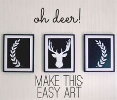 "<a href=""http://www.theshabbycreekcottage.com/2013/10/deer-silhouette-artwork.html"" target=""_blank""><strong>Oh Deer Silhouette Artwork from The Shabby Creek Cottage</strong></a"