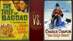 Matchup of the Day: The Thief of Bagdad vs. The Gold Rush - http://www.flickchart.com/blog/matchup-of-the-day-the-thief-of-bagdad-vs-the-gold-rush/