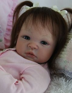 Custom Order Reborn Baby Doll A. Peterson Shyann by StitchesbySuzy, $369.00