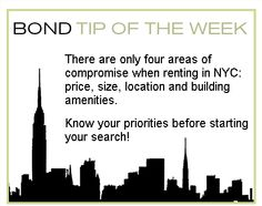 BOND Tip of the Week
