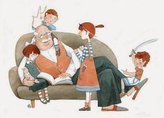 abuelos ilustrado - Buscar con Google