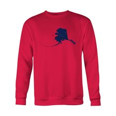 *HOLIDAY SPECIAL* Alaska Flag Crewneck Sweatshirt