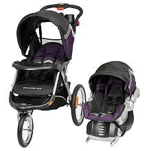"Baby Trend Expedition ELX Travel System Stroller - Windsor - Baby Trend - Babies ""R"" Us  $239.99 I need to check on the safety ratings of this but I thought @John Torpy would be all over it because of the speakers built into the stroller..."