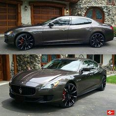 "Exotic Cars & Supercars on Instagram: ""Maserati Quattroporte Follow @LexaniOfficial for more exotic cars sitting proper on @LexaniOfficial Visit www.Lexani.com for more! #LexaniWheels"""