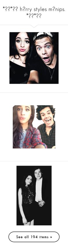 """""""*✲゚*。✧ hɑrry styles mɑnips. *✲゚*。✧"""" by disney-clipper ❤ liked on Polyvore featuring camila & others, camila cabello, harry styles, manips, camila, pictures, manip, sets, people and larry"""