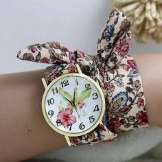 Flora Wrist Scarf watch