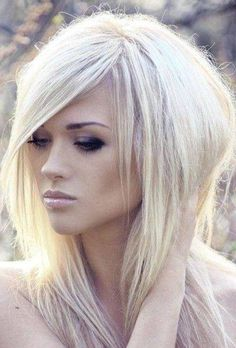 Edgy haircuts for straight medium length hair blonde long shag hairstyles spot Edgy Long Haircuts, Layered Haircuts For Medium Hair, Long Shag Hairstyles, Haircuts For Fine Hair, Medium Hair Cuts, Long Hair Cuts, Medium Hair Styles, Short Hair Styles, Edgy Hairstyles