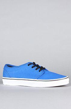 $55 - The 106 Vulcanized Sneaker in Victoria Blue & True White by Vans Footwear - 20% off using rep code SHANE20