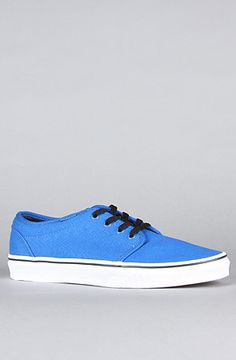 $55 - The 106 Vulcanized Sneaker in Victoria Blue & True White by Vans Footwear - 20% off using rep code SHANE20
