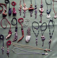 Amulets, Charms & Talismans, oh my!