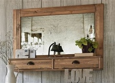 hall mirror Deco, Decor, Wood, Furniture, Home, Hall Mirrors, Wood Projects, Home Decor