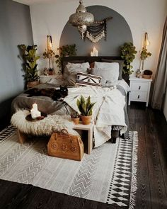 Modern Bedroom Ideas - Searching for the best bedroom design ideas? Utilize these lovely modern bedroom ideas as ideas for your own amazing decorating system . Home Bedroom, Modern Bedroom, Bedroom Furniture, Minimalist Bedroom, Furniture Plans, Minimalist Apartment, Kids Furniture, Modern Bohemian Bedrooms, Bedroom Small
