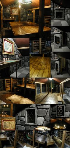 Image Nerd Room, Gamer Room, Dungeon Room, Deco Harry Potter, Table Games, Game Tables, Home And Deco, My New Room, My Dream Home