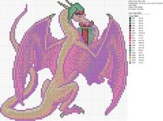 Christmas Pink Purple Dragon by carand88