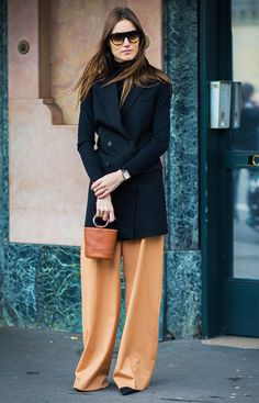 The Trouser Shape That Will Make Your Legs Look 2 Times Longer via @WhoWhatWearUK