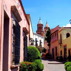Un paseo colonial por las calles del centro de Querétaro.....