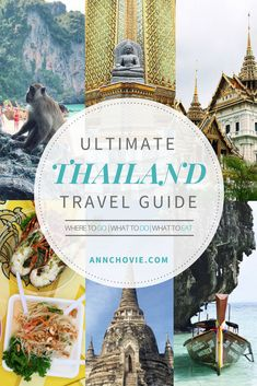 I've broken down my trip to the different locations I've gone too, including where I stayed, must-do activities, and places to eat.Hope this Thailand travel guide will inspire you to take a trip to Thailand. I already can't wait for my next trip there, as I have so much left to see!| THAILAND TRAVEL TIPS | THAILAND TRAVEL DESTINATIONS | THAILAND TRAVEL ITINERARY | WHAT TO DO IN THAILAND | WHERE TO EAT IN THAILAND | PLACES TO VISIT IN THAILAND