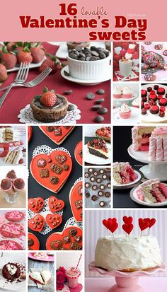 valentine red food