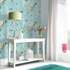 Arthouse Mitzu Wallpaper - Duck Egg