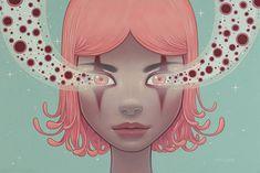 Cotton Candy Machine | Magnetic Trance by Tara McPherson