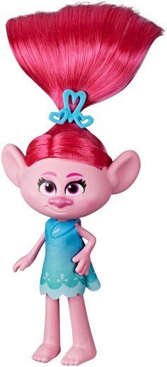 Trolls World Tour - Stylin' Poppy Fashion Doll - Multi Trolls Poppy, Pink Doll, Troll Dolls, Mets, Imaginative Play, Hair Designs, Gifts For Boys, Stylish Dresses, Playing Dress Up