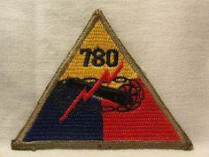 WW2 WWII US Army Armored 780th Amphibiuos Tank Battalion Patch | eBay