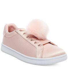 pom pom sneakers, sneakers, pom pom