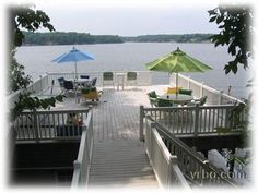 Amazing home on lake gaston sleeping up to 22! Says $250/night on off season but can't imagine it's really that cheap! Amazing! no firepit thought ;(