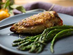 Roasted Chicken with Orange Glaze from CookingChannelTV.com