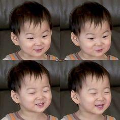 Minguk | The Return of Superman Superman Baby, Little Babies, Cute Babies, Baby Kids, Song Il Gook, Triplet Babies, Song Triplets, Song Daehan, Asian Babies