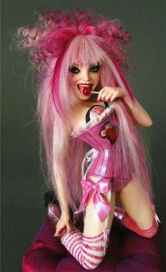 Nicole West Art Doll