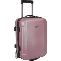 Traveler's Choice Freedom 21 in. Hardshell Wheeled Carry-On Suitcase * You can get additional details at the image link.