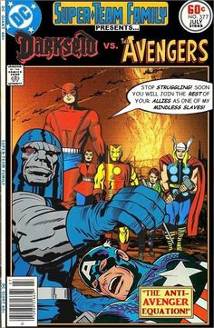 Super-Team Family: The Lost Issues!: Darkseid Vs. The Avengers