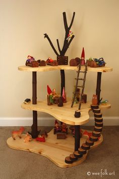 Tutorial of how to make a gnome home. Great for open-ended play in kindergarten and even early grades.
