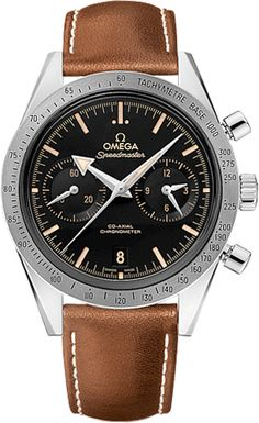 331.12.42.51.01.002 Omega Speedmaster '57 Mens 41.5mm Co-Axial Chronograph Watch - BRAND NEW