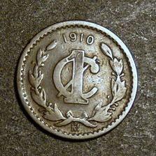 Mexico 1 centavo 1910 Estados Unidos Mexicanos Un Centavo One Cent   #7454 http://unbelievable-nice-item.newoffers.info/buy/01/?query=252098280467…