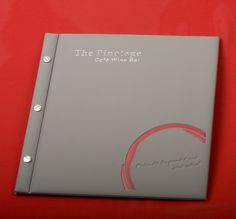 Menu covers | PVC & Polyprop | Barno | branded stationery and promotional products