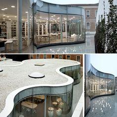 Maffei e Isozaki-Biblioteca di Maranello