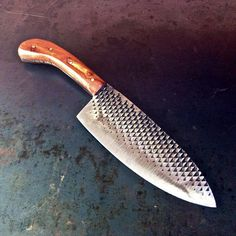 how cool is this?? Chelsea Miller Chef Knife