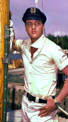 Elvis Presley - A George Vreeland Hill Pinterest post.