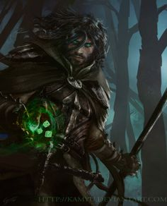 Role play Game Master! For Werewolf, I'd say. Fantastic! The Diceman by Kamyu on DeviantArt