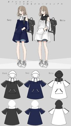Dress Design Sketches, Fashion Design Drawings, Fashion Sketches, Cute Casual Outfits, Pretty Outfits, Mode Kimono, Anime Girl Dress, Drawing Anime Clothes, Anime Outfits