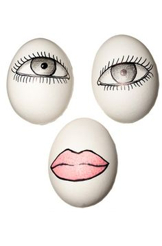 designer eggs - Chanel
