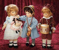 Lot: American Felt Character Doll, Little Boy Blue, by R. John Wright 900/1400 | Proxibid Auctions