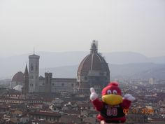 Cocky in Florence, Italy