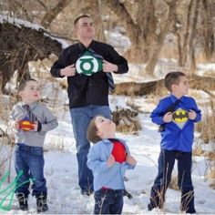 My boys will be doing this ASAP!! I will be Wonder Woman, because with 4 boys in the house you just have to be!! lol