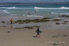Enjoying surf at Gold Coast, #Australia